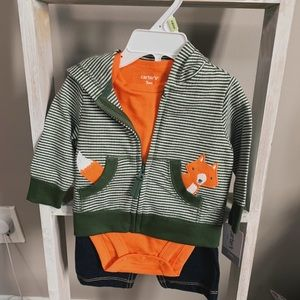 Brand New 3-piece Carters Outfit